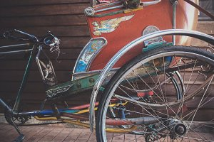 Retro Vintage Tricycle