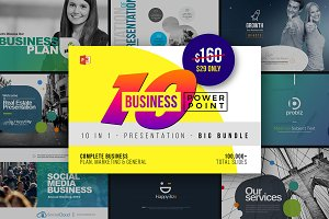 Business PowerPoint Templates Bundle