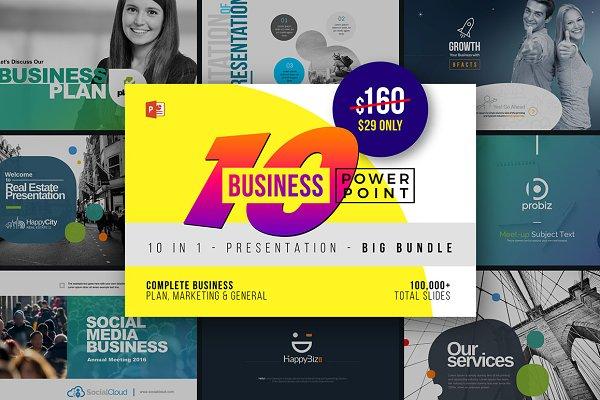 Business PowerPoint Templates Bundl…