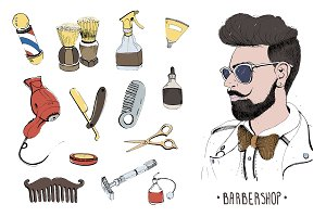 Barbershop design production