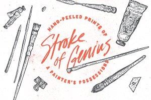 Stroke of Genius - Block Prints