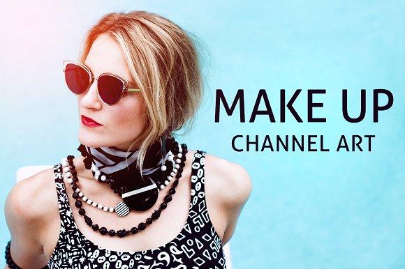 Makeup Channel Art