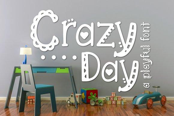 Crazy Day A Playful Font