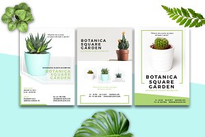 BOTANICA - Event Flyer & Poster