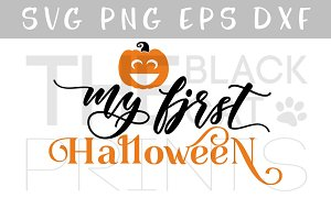My first Halloween SVG DXF EPS PNG