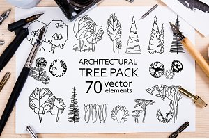 Architectural Tree Pack