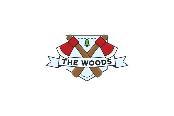 The Woods Shield Badge 2