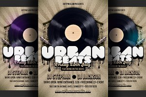 Hip Hop Party Flyer Template