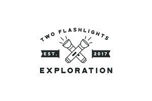Flashlight Badge
