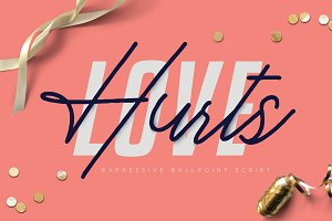 Love Hurts - Ballpoint Script