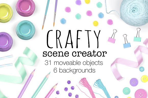Crafty Scene Creator Top View