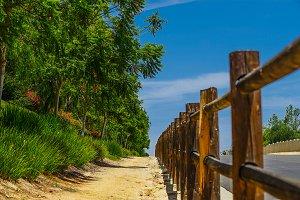 SAN DIEGO CALIFORNIA SIDEWALK TRAIL