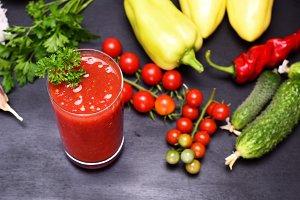 juice of tomato