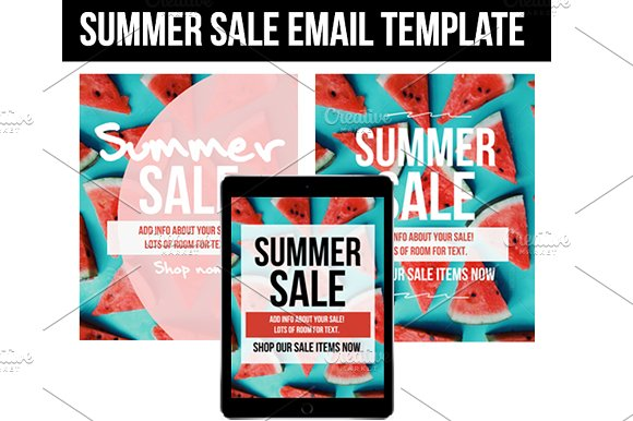 Summer Sale Email Template