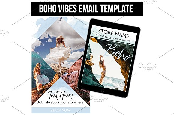 Boho Vibes Email Template