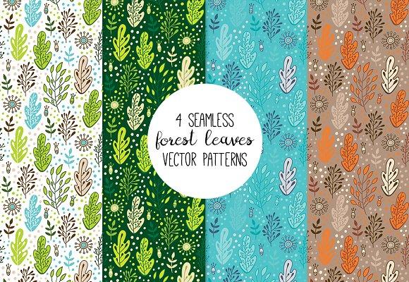 Forest Patterns Set X12