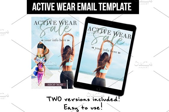 Active Wear Template