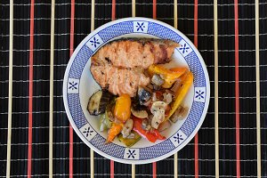 Salmon Vegetables
