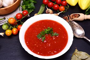 Gazpacho cold soup