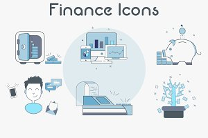 Finance/Business icons