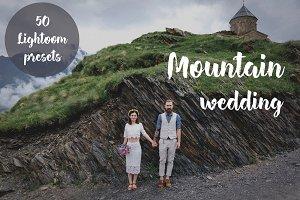 50 Mountain wedding Lightroom preset