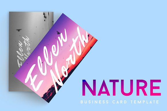 Nature Photography Business Card