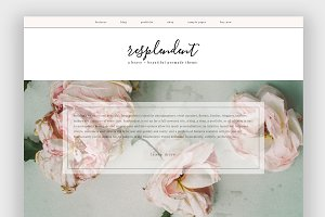 Resplendent Wordpress Theme