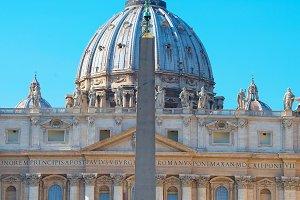 St. Peter's Basilica. Vatican