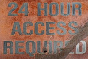 24 HOUR ACCESS REQUIRED
