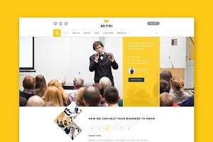 Mitri - Events HTML Template