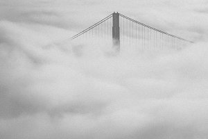 Golden Gate Bridge Clouds