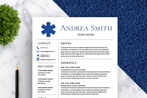 Nurse Resume Template *NEW*