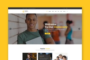 Edumax - Education HTML Template