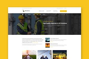 Manufactory - HTML Template