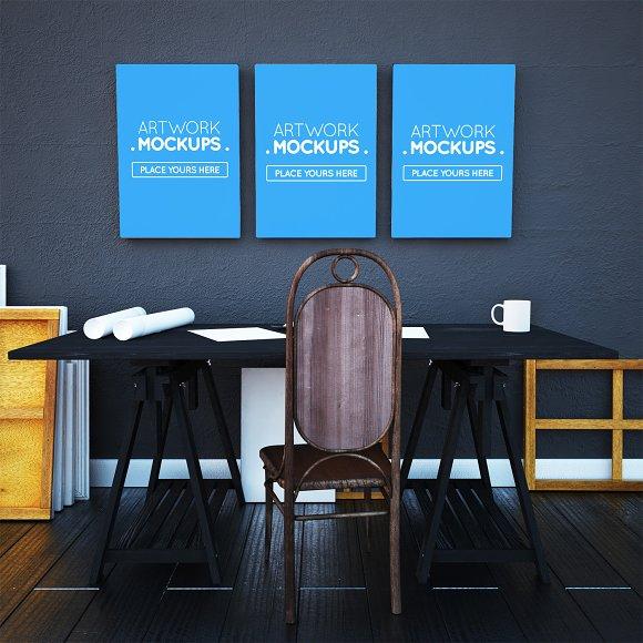 Architect Desktop Mockups #1