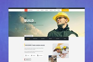 Construction/Building HTML Template