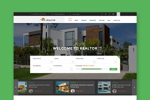 Realtor - Real Estate HTML Template