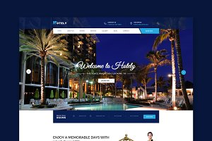 Hotely - Booking HTML Template