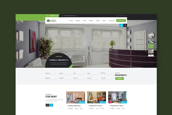 Property Real Estate HTML Template