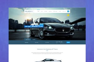 Automan - Car HTML Template