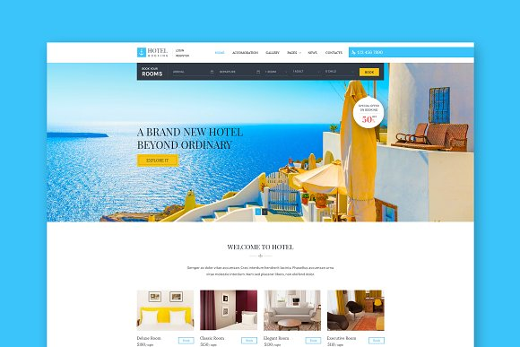 Hotel booking engine rapidshare designtube creative for Hotel booking design