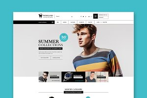Wooland eCommerce WordPress Theme