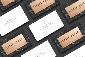 Black Marble | Business Card