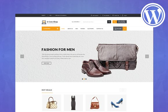 ECom WooCommerce WordPress Theme