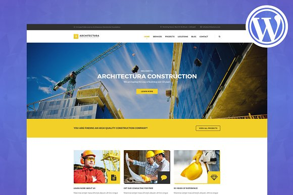 Architectura WordPress Theme
