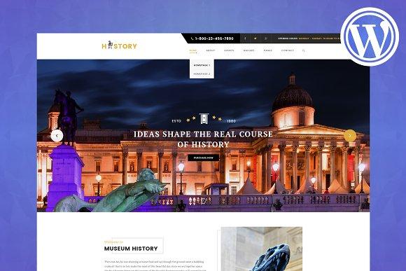 History Museum WordPress Theme