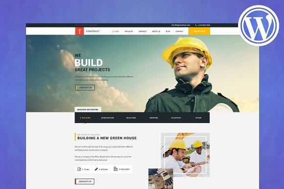 Construction Building WP Theme