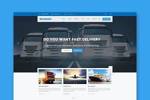 Express Logistics HTML Template
