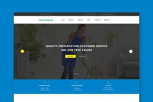 Max Cleaning HTML Template