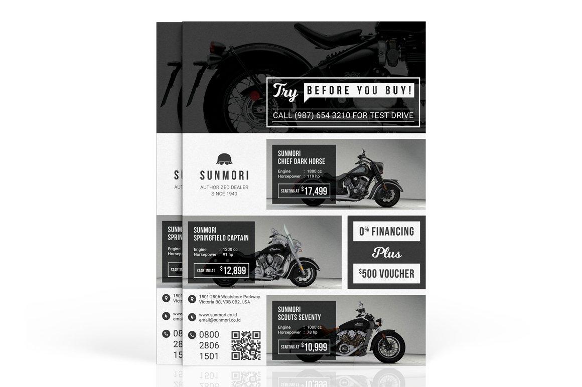 Sunmori : Automotive Dealer Flyer ~ Flyer Templates ~ Creative Market